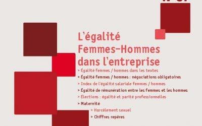 Repères n°57, l'égalité Femmes-Hommes dans l'entreprise