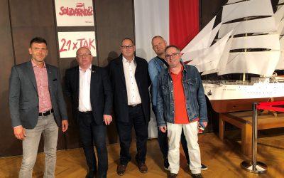 Comité Européen Marie Brizard: la FGTA s'organise avec les délégués de Solidarność