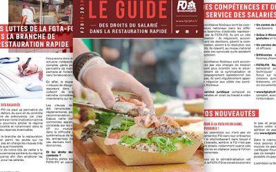 Guide FGTA-FO Restauration rapide 2019-2020