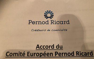 La FGTA-FO porte la voix des salariés au CEE Pernod Ricard