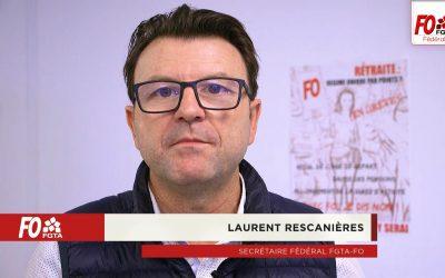 Pourquoi faire grève le 5 décembre ? Retrouvez l'appel de Laurent Rescanières en vidéo