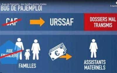 Bugs de Pajemploi : des familles privées d'aides