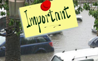 Inondations : l'action de solidarité HCR est activée