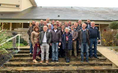 Les délégués des coopératives du secteur céréalier étaient réunis à Dourdan