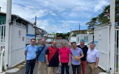 Une délégation fédérale en visite dans une coopérative laitière à l'Île de la Réunion