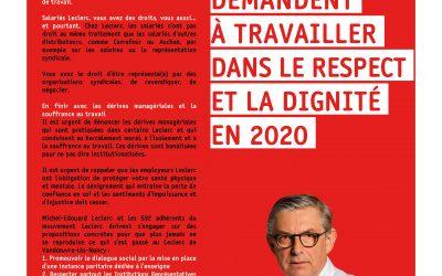Leclerc : la FGTA-FO s'adresse aux salariés