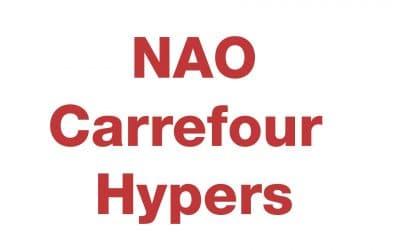 NAO Carrefour Hypers 2020 : les résultats
