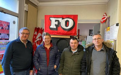 La FGTA-FO à la rencontre des syndicats bretons de l'agriculture