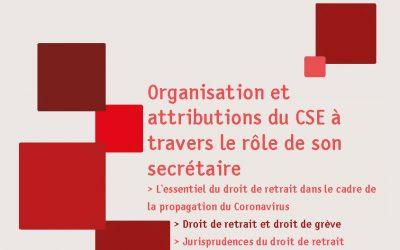 Repères n°60, le rôle du secrétaire du CSE/Coronavirus