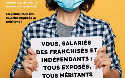 Salariés des franchisés et indépendants : tous exposés, tous méritants
