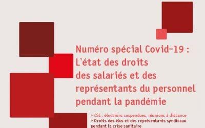 Droit du travail et santé des salariés : téléchargez le Repères Spécial Covid-19