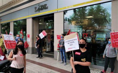 La FGTA-FO solidaire des grévistes chez Lidl en Espagne et Belgique