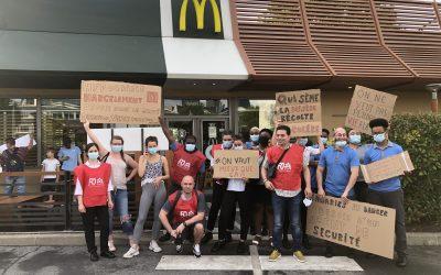 Grève FO McDonald's
