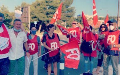 Sodexo : grève au Campus Luminy à Marseille