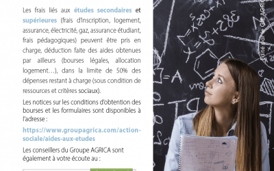 Financement des études : le coup de pouce d'Agrica
