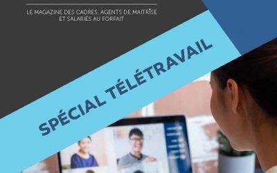 Le FGTA-FO Mag' Cadres n°4 Spécial Télétravail est disponible