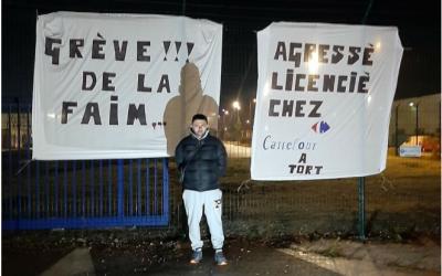 Grève de la faim chez Carrefour: la FGTA-FO demande la réintégration de notre camarade Djamel Souna