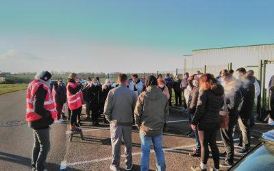 Débrayage chez Tallec, les salariés sortent pour dénoncer leurs conditions de travail et leurs faibles salaires