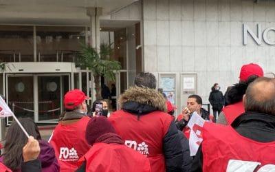767 licenciements chez AccorInvest : FO lance la mobilisation !