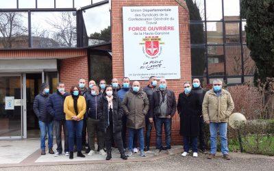 Les élus FO Danone Produits Frais formés sur la CSSCT