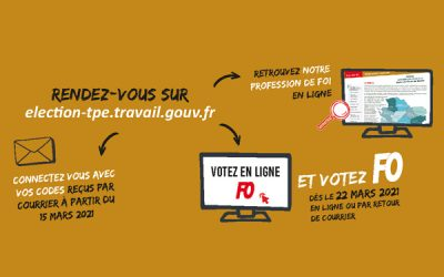 VOTER FO EN 2' CHRONO !