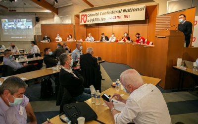 Résolution du Comité Confédéral National des 27 et 28 mai 2021