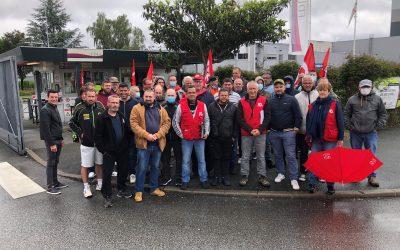 Fin de la mobilisation chez Fiée des Lois : des salariés satisfaits !
