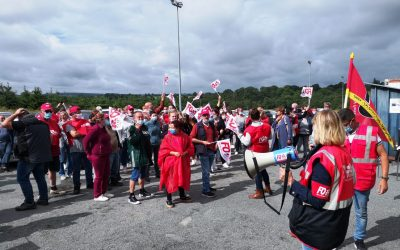 La formidable solidarité des salariés grévistes Ramon !