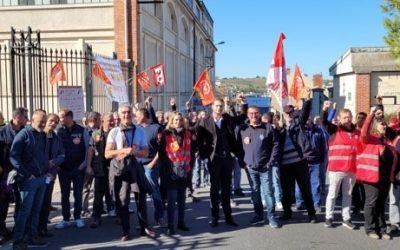 8e jour de grève chez Maison Burtin !