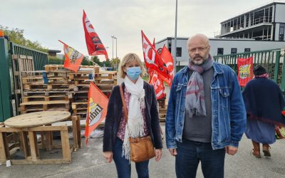 La FGTA-FO en soutien aux salariés de Bergams