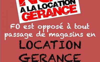 Location-Gérance : FO Carrefour dit non !